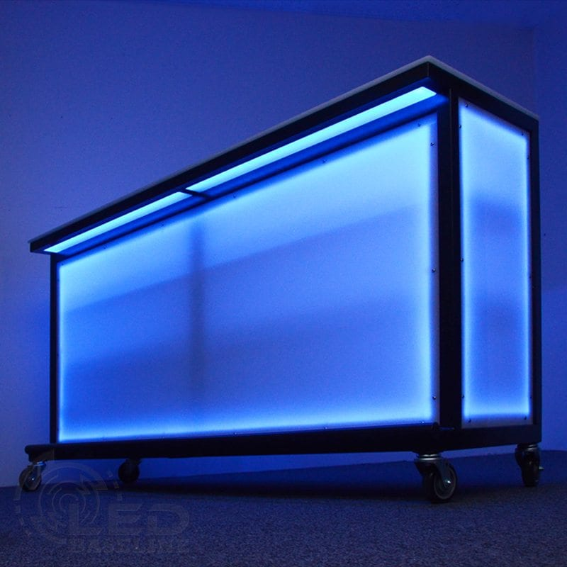 LED Lighted Portable Bar.