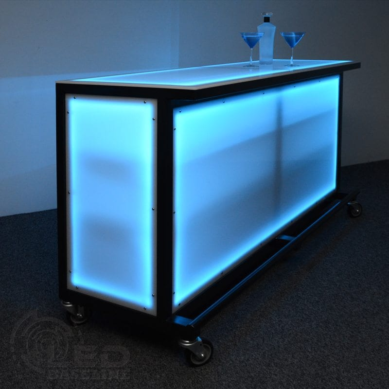 Led Lighted Portable Bar Portable Bars For Special Events