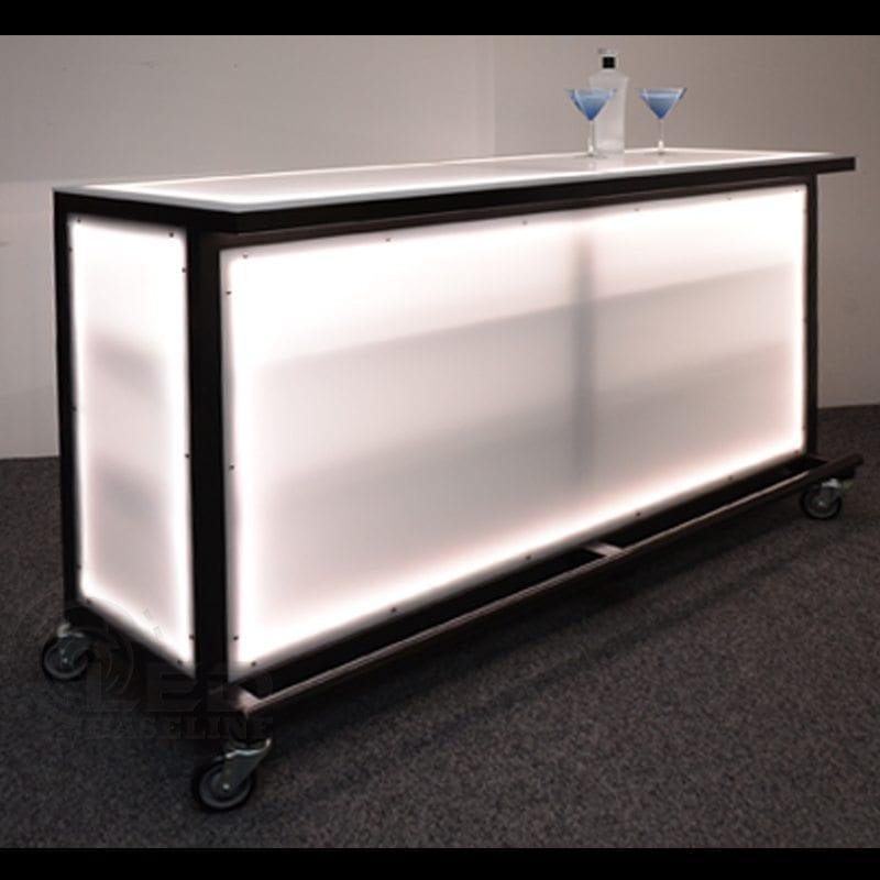 Portable Bar Table Trademark Global 174 Deluxe Metal