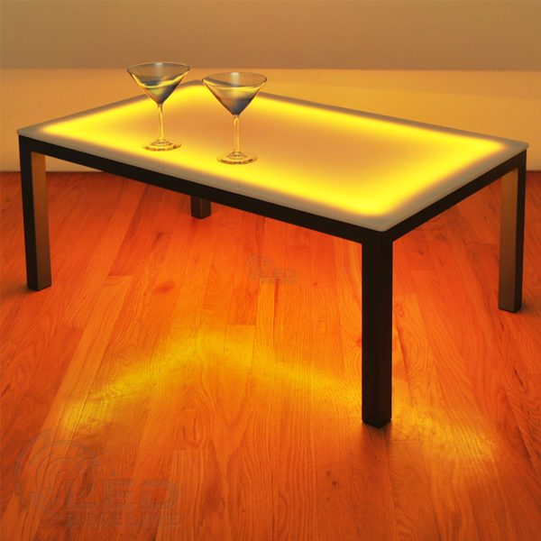 LED Lighted Furniture LED Coffee Table 6