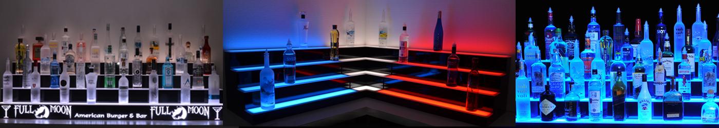 banner bar shelves