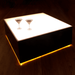 Modern Lighted Tables