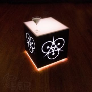 Modern Lighted Table -20x20