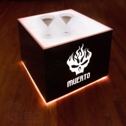 Modern Lighted Table - 30 x 30