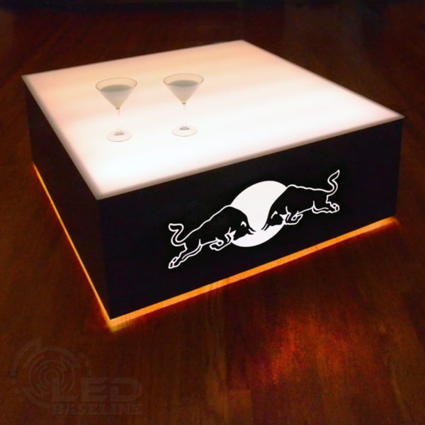 Modern Lighted Table - 42 x 42