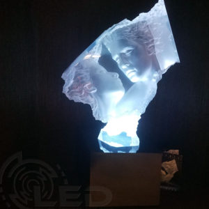 lightbox-with-sculpture